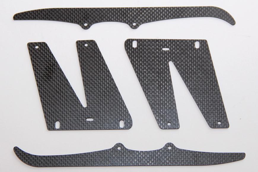Henseleit TDF - Chassisunterbau: Kufenplatten und Kufen