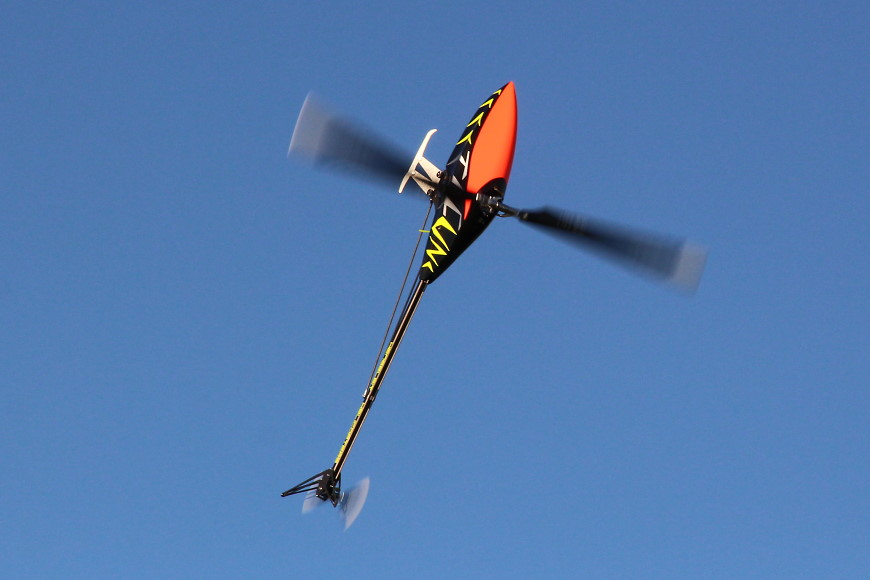 Henseleit TDF - Jungfernflug: Der Sound ist einfach nur der Hammer...