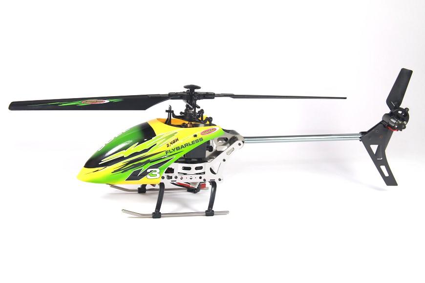 Jamara 032610 Sole V3 Flybarless - Seitenansicht