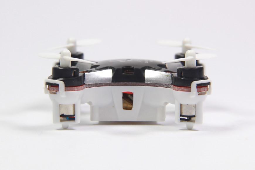 Sbego FQ777-124 Pocket Drone - Ansicht von der Seite