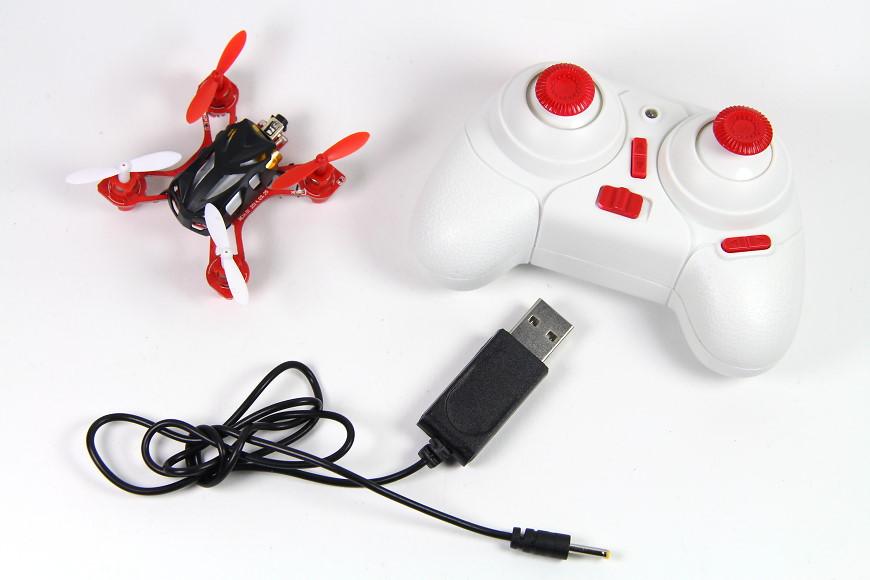 S-IDEE 01163 S-Nano Quadcopter (V282) - inkl. Sender und USB-Ladekabel