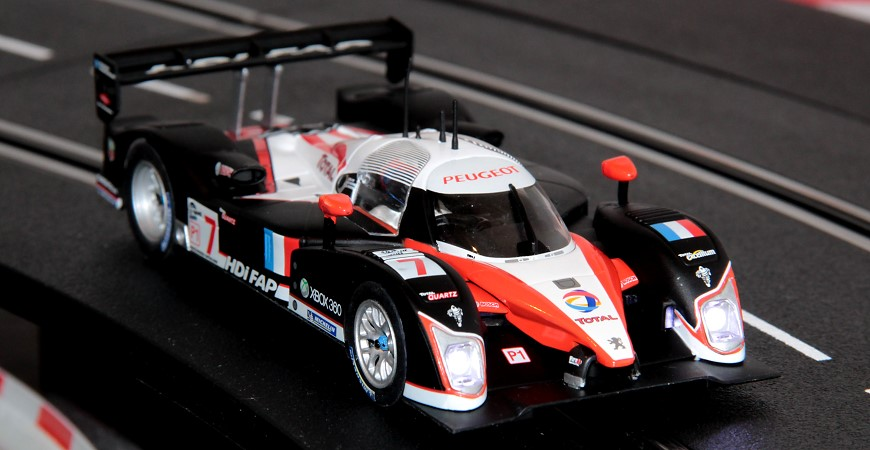 Carrera Umbau Evolution Digital 132 Auto Peugeot 908 HDi FAP